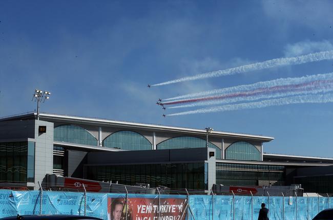 تصاویر افتتاح بزرگترین فرودگاه ترکیه,عکس های فرودگاه جدید استانبول,تصاویربزرگترین فرودگاه ترکیه