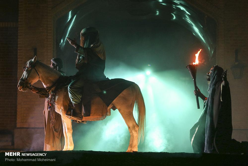 عکس نمایش میدانی رسول,تصاویرنمایش میدانی رسول,عکس نمایش رسول دربوستان آب و آتش
