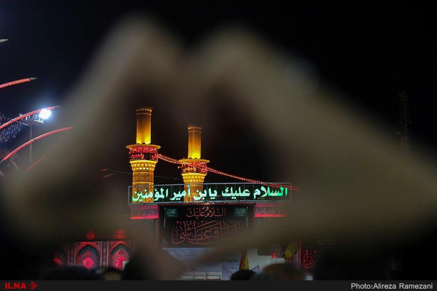 تصاویر صحن حضرت عباس(ع),عکس های صحن حضرت عباس(ع),تصاویرصحن حضرت عباس(ع) در ایام اربعین حسینی