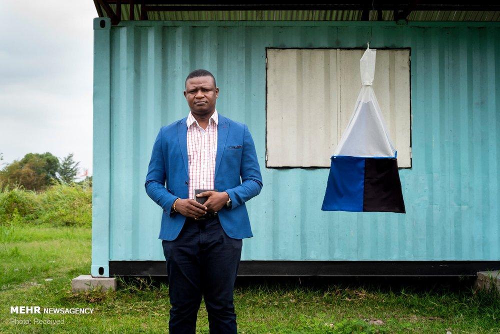 عکس مقابله با بیماری خواب در کنگو,تصاویر مقابله با بیماری خواب در کنگو,عکس محققان کنگو