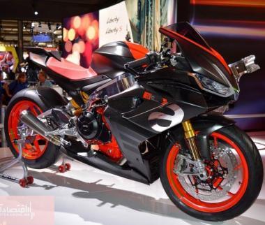 تصاویر نمایشگاه موتورسیکلت در ایتالیا,عکسهای نمایشگاه موتورسیکلت در میلان,عکس های نمایشگاه موتورسیکلت در ایتالیا