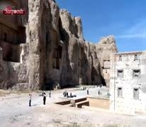 ویدئو/ معمای کعبۀ زرتشت  محل نگهداری اوستا، آرامگاه واقعی کوروش یا مقبره کمبوجیه؟