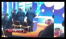 فیلم/ دست دادن رئیس فدراسیون وزنه برداری با داوران زن