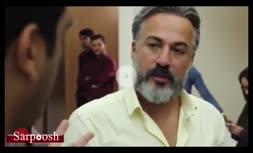 اولین ویدیو از پشت صحنه سریال نمایش خانگی رقص روی شیشه