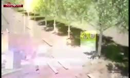 ویدئو/ بازسازی شماتیک لحظه برخورد تانکر سوخت با خودروی مرحوم نوربخش رئیس سازمان تامین اجتماعی و معاونش