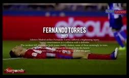 فیلم/ دلخراش ترین مصدومیتهای قرن 21 در جهان فوتبال