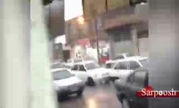 فیلم/ لحظهی سرقت مسلحانه از طلافروشی در گتوند خوزستان