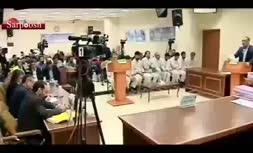 فیلم/ آخرین لحظات اجرای حکم اعدام سلطان سکه و محمد سالم