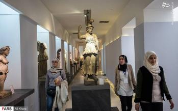 عکس موزه ملی سوریه,تصاویرموزه ملی سوریه,عکس موزه