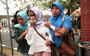 تصاویر سقوط هواپیمای مسافربری اندونزی,عکس های سقوط هواپیمای اندونزی،عکسهای سقوط هواپیمای بوئینگ اندونزی