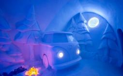 تصاویر هتل یخی در لاپلند سوئد,عکس های هتل یخی,تصاویر هتلی در لایلند سوئد
