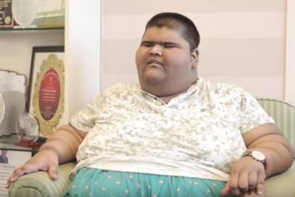 چاق ترین پسر دنیا,اخبار جالب,خبرهای جالب,خواندنی ها و دیدنی ها