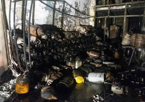 انفجار در کازرون,اخبار حوادث,خبرهای حوادث,حوادث امروز