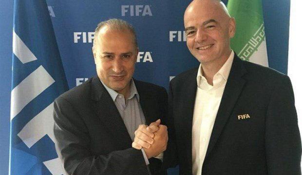 رئیس فیفا و تاج,اخبار فوتبال,خبرهای فوتبال,فوتبال ملی