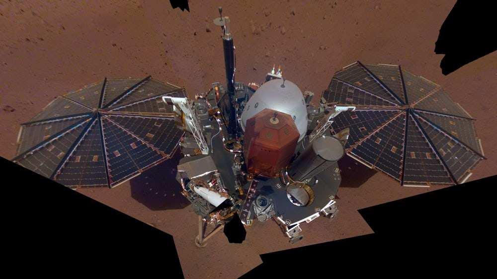 ارسال تصاویر مریخی توسط «اینسایت»