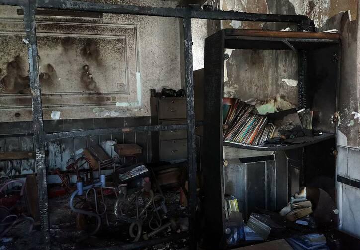 آتش سوزی مدرسه,نهاد های آموزشی,اخبار آموزش و پرورش,خبرهای آموزش و پرورش