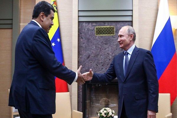 ولادیمیر پوتین و نیکلاس مادورو,اخبار سیاسی,خبرهای سیاسی,اخبار بین الملل