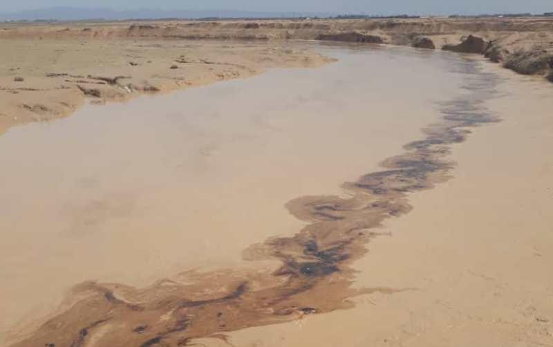 آلودگی رودخانه های فصلی گناوه به مواد نفتی,اخبار اجتماعی,خبرهای اجتماعی,محیط زیست