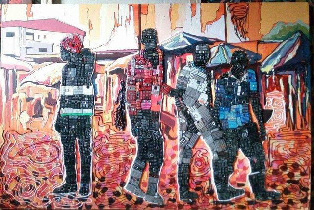 زبالههایی که نقاشی میشوند