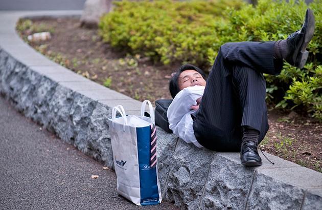 حاضرخوابی ژاپنیها,اخبار جالب,خبرهای جالب,خواندنی ها و دیدنی ها