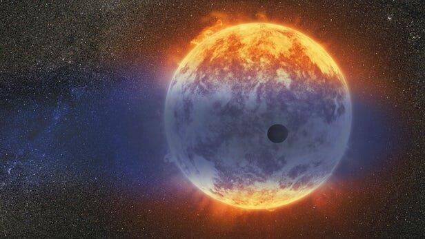 شناسایی سیارهای که در حال کوچک شدن است