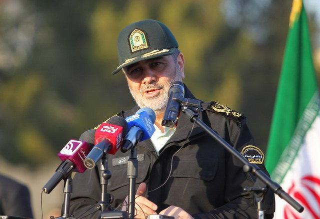 سردار اشتری: مقبولیت نیروی انتظامی در بین مردم رو به افزایش است/ جامعه قرآنی با بیگانگان سر سازش ندارد