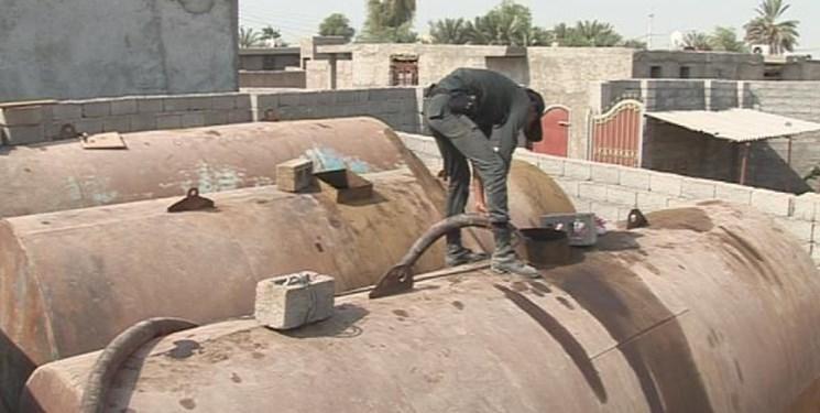 لوله کشی در کف دریا برای قاچاق سوخت در هرمزگان
