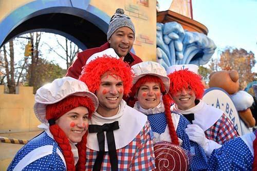 تصاویر ستاره های هالیوود,عکس های  ستاره های هالیوود در جشن شکرگزاری,تصاویر مراسم شکرگزاری ستاره های هالیوود