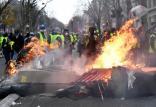 اعتراضات در فرانسه,اخبار سیاسی,خبرهای سیاسی,اخبار بین الملل