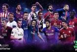بازیکنان نامزد حضور در تیم منتخب سال 2018 یوفا,اخبار فوتبال,خبرهای فوتبال,لیگ قهرمانان اروپا