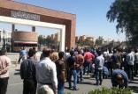 آزاد شدن بازداشتیهای فولاد اهواز,کار و کارگر,اخبار کار و کارگر,اعتراض کارگران