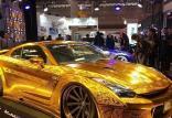 نسخه طلایی رنگ نیسان R35 GT-R,اخبار خودرو,خبرهای خودرو,مقایسه خودرو