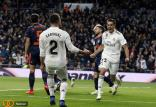 تصاویر فوتبال رئال مادرید و والنسیا,عکسهای فوتبال رئال مادرید و والنسیا,عکس های مسابقات لالیگا 2018