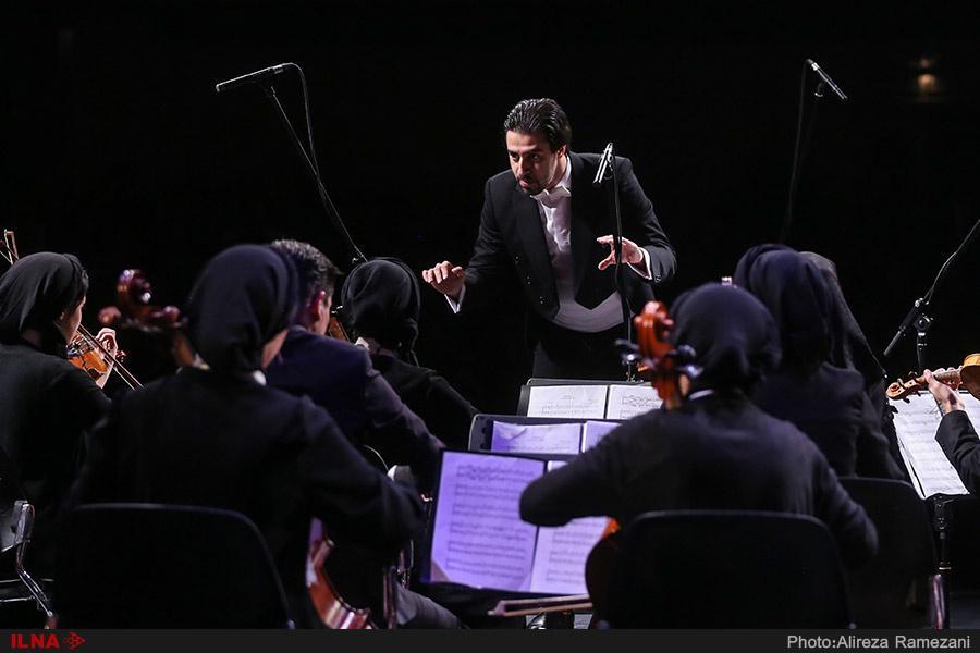 تصاویر کنسرت ارکستر رتوریک,عکس های کنسرت ارکستر رتوریک,عکس کنسرت ارکستر رتوریک در تالار وحدت