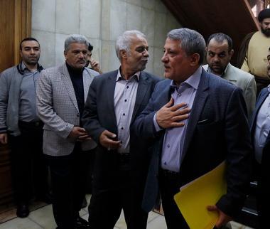 تصاویر پیروز حناچی,عکس های مراسم سوگند پیروز حناچی,تصاویر شهردار جدید تهران