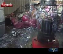 فیلم/ آتش سوزی مرگبار دبستانی در زاهدان