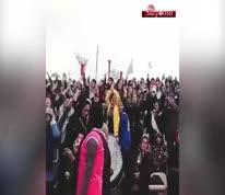 ویدئو/ بازگشت زنان هوادار ملوان بندر انزلی به استادیوم