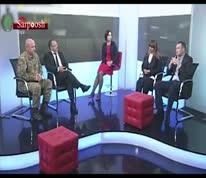 زد و خورد دو نماینده در برنامه تلویزیونی