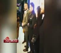 فیلم/ حواشی جشن امضای سریال «ممنوعه» و ابراز ناراحتی میلاد کیمرام