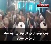 فیلم/ توهین و فحاشی نماینده مرند به یک شهروند