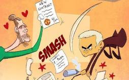 کاریکاتورعصبانیت جدید آقای خاص,کاریکاتور,عکس کاریکاتور,کاریکاتور ورزشی