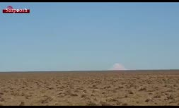 ویدئوی جالبی از هوبره های قم و دورنمایی از قله دماوند