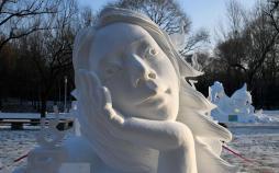 تصاویر برندههای مسابقه مجسمههای یخی,تصاویر مسابقه مجسمههای یخی,تصاویر جالب از مسابقه مجسمههای یخی