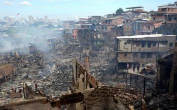 تصاویر آتش سوزی در برزیل,عکس های حادثه در برزیل,تصاویر حادثه آتش سوزی برزیل