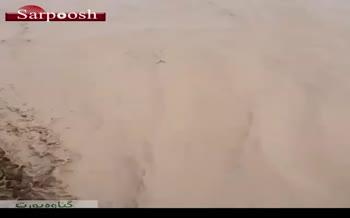 فیلم/ تخریب پل نوساز در بندر دیلم استان بوشهر