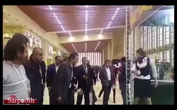 فیلم/ پنالتی آذری جهرمی به دروازه بان الكترونيكی كه گُل نمیخورد!