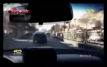 فیلم/ تعقیب و گریز پلیس با سارق خودرو در تهران
