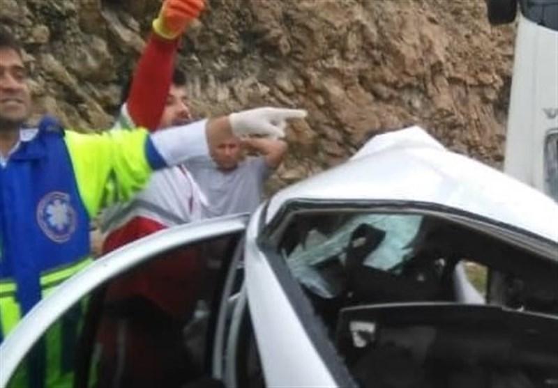 ۸ سرنشین پراید در تصادف محور جغتای خراسان رضوی کشته شدند