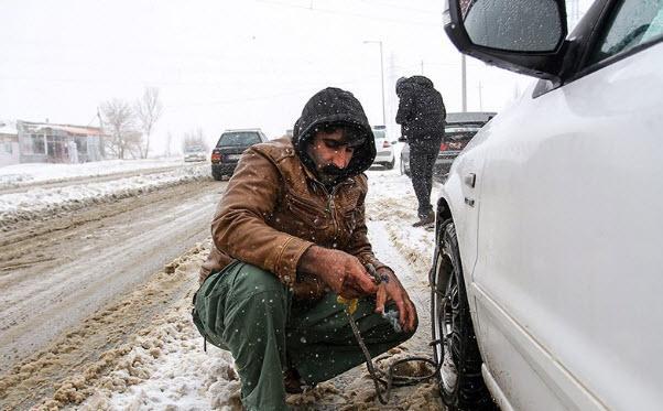 مسافران گرفتار در برف,اخبار اجتماعی,خبرهای اجتماعی,محیط زیست