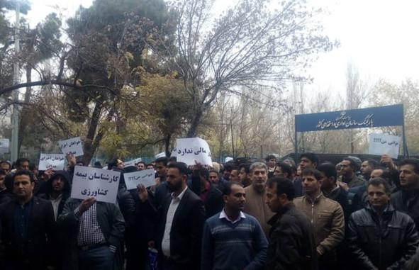 تجمع کارگزاران صندوق بیمه کشاورزی,کار و کارگر,اخبار کار و کارگر,اعتراض کارگران
